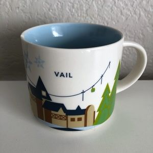 Starbucks Vail You Are Here YAH Coffee Cup 2015